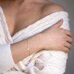 Heartbeat arany karkötő